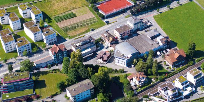 Masterplan Megger Zentrum: Ausstellung Testplanung Mühleweiher durchgeführt