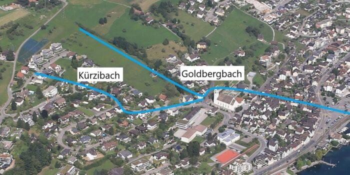 Eindolung Goldbergbach